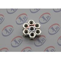 Wholesale Swiss Turning Nickel Plating 1214 Iron Hexagonal Nuts , Order Custom Machined Parts from china suppliers