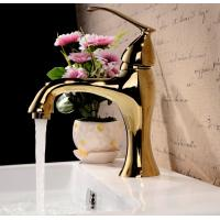 Wholesale Modern single lever polished brass bathroom faucet bath taps from china suppliers