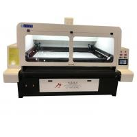 Wholesale Custom Textile Laser Cutting Machine , High Precision Fabric Laser Cutter from china suppliers