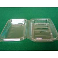 China Eco Rectangle Food Grade Plastic Thermoforming Tray Custom For Food Packaging on sale