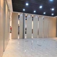 Buy cheap Soundproof Decoration Aluminum Movable Moving Partition Walls for Banquet Room from wholesalers