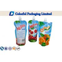 Wholesale 250ml Beverage Laminated Stand Up Pouch With Spout , liquid packaging bags from china suppliers