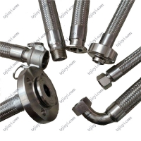 Wholesale 304 Braided Corrugated Flexible Metal Hose for water, steam, hot oil from china suppliers