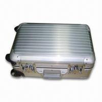 Wholesale Aluminum Computer Luggage Case with Handle Pole, Available in Argent Color from china suppliers