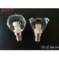 Wholesale 450lm Dimming Led Candle Lights , 4.3w 2700k Light Bulb Crystal E12 Base from china suppliers