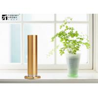 Buy cheap 200m³ Aluminum Alloy Desktop Scent Diffuser Machine Cylindrical Design In Gold from wholesalers