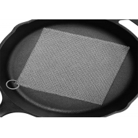 Wholesale Ring Mesh Chainmail Cast Iron Scrubber For Brushing Pot from china suppliers