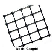 Wholesale Black Soil Grid Pp Biaxial Geogrid / 40kn Geogrid For Road Construction from china suppliers