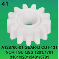 Wholesale A128760-01 GEAR D-CUT 13 TEETH FOR NORITSU qss1201,1701,3101,3201,3401,3701 minilab from china suppliers