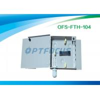 China 4 Core 2 Holes Cable Ports Termination Box  Fiber 0.25 kg Φ5 Φ10 Wall Type on sale