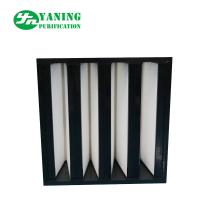 Wholesale F7 F8 F9 H10 V Bank Filter With ABS Plastic Frame from china suppliers