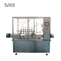 China Peristaltic Pump Spray Bottle Filling Machine Chemical Industry Liquid Filling Line on sale
