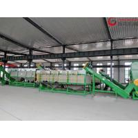 Buy cheap 80KW Plastic Washing Equipment , PP PE Film Washing Line 300kg/H Capacity from wholesalers