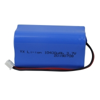 Wholesale 1000 Cycle UN38.3 10400mAh 3.7V Lion Battery Pack from china suppliers