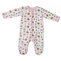 Buy cheap Winter Cute Newborn Baby Clothesbaby Girl Sleepwear With Alll Over Prints from wholesalers