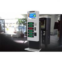 Buy cheap Remote Control Posters Public Cell Phone Charging Kiosk With Advertising from wholesalers
