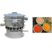 Wholesale Food Grade 50kg/H Vibro Industrial Powder Sifter For Spice Sifting from china suppliers