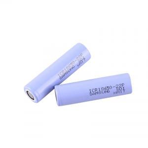 Wholesale Big Capacity 3.6 V 2200mAh Samsung 18650 Lithium Battery from china suppliers