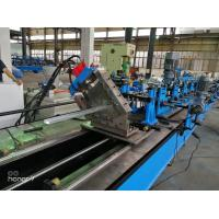 Wholesale 60m/min CU  C Z Purlin Roll Forming Machine for Gear Box driving fly cutting from china suppliers