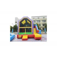 Buy cheap Colorful Commercial Grade Inflatable Bouncy Castle / Jumping Bouncer With Slide from wholesalers