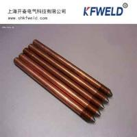 Wholesale Manufactured Copper Ground Rod, diameter 17.2mm, 3/4, 2.4m length from china suppliers