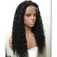 Buy cheap Mixed Color 100% Peruvian glueless human hair full lace wigs With Combs / Straps from wholesalers
