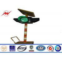 Wholesale Solar Powered System Automatic Remote Control Bollard Traffic Signal Light from china suppliers