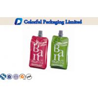 Wholesale 150ml CMYK / Pantone Color stand up packaging pouches , liquid spout bags from china suppliers