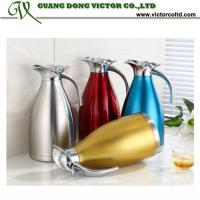 Wholesale Stainless steel water Jug Cold water bottle Single Layer 1.6L, 2.1L, 2.6L V-KFHL from china suppliers