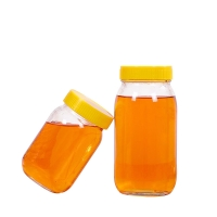 Wholesale Clear Custom 500ml 1L Empty Glass Jars Dia 6.3cm For Honey from china suppliers