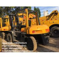 Wholesale Used 5ton Tcm Forklift Trucks Fd50 / Japan Made Second Hand Fork Lift Trucks from china suppliers