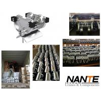 Wholesale Galvanized Steel Ball Bearing Hardened I Beam Trolley For High Capacity Stowing System from china suppliers