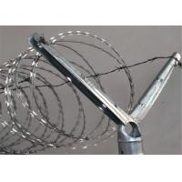 Wholesale 2-1/2''O.D Post 1-5/8'' Barbed Wire Extension Arm For Chain Link Fence Rail Top Use from china suppliers