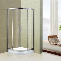 Wholesale Australian Standard Tempered Glass Sliding Door Glass Shower Enclosure with Stainless Steel Frame from china suppliers