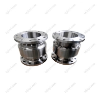 Wholesale Stainless steel 304 high pressure hydraulic swivel joint DIN flange standard from china suppliers