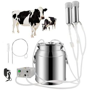 Wholesale 7L 14L Pulsation Vacuum Pump Milker SS Goat Milking Machines from china suppliers