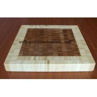 Wholesale Bamboo End Grain Board from china suppliers