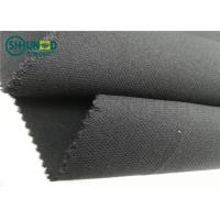 Wholesale Medium Weight 76gsm Twill Weave Interlining Fabric with PA double dot from china suppliers