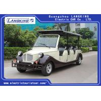 China 72V/7.5KW 8 Persons Classic Car Golf Carts With baskte /electric classic car using park/hotel on sale