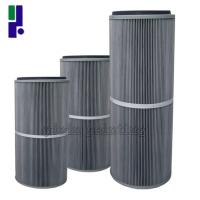 Buy cheap Multipurpose Air Filter Element 325 * 600 Mm Anti Static Function Easy Operating from wholesalers
