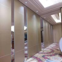 Buy cheap Acoustic Wooden Movable Operable Folding Partition Wall for Banquet Hall from wholesalers