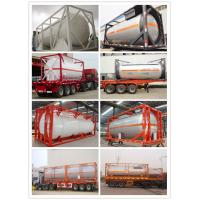 Wholesale Chinese Compatitive Price 5000-12000 Liter LPG Tank Container with Good Quality (CLW8100) from china suppliers