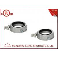 Buy cheap 1 inch 2 inch Zinc Die Casting Conduit Bushing With Aluminum Grounding Lug from wholesalers