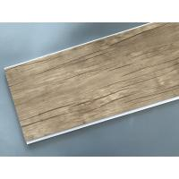 Wholesale Wood Color Plastic Laminate Wall Covering , Pvc Laminated Ceiling Board from china suppliers