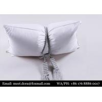 Wholesale Hotel Comfort Supplier Cheap Polyester Microfiber Filled Pillow from china suppliers