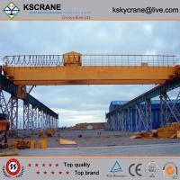 Wholesale Widely Used Double Beam Trolley Bridge Crane from china suppliers
