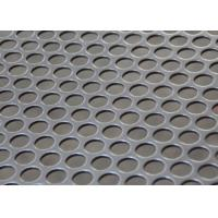 Wholesale Round Holes Stainless Steel Perforated Metal Sheet For Water / Oil / Air Filtration from china suppliers