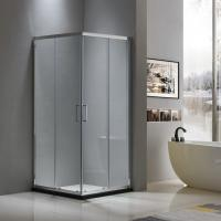 Buy cheap Aluminium shower enclosure 900*900 with two sliding doors and two fixed panels from wholesalers