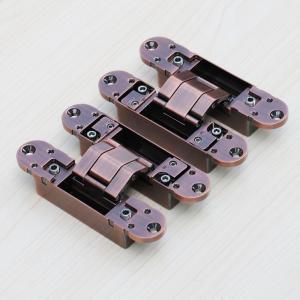 Buy cheap 3d hidden door hinges manufacturer 180 Degree 3D Adjustable Invisible Door from wholesalers
