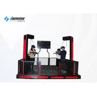 Buy cheap Black And Red Colour Led Light Virtual Reality Simulator With Immersive Game from wholesalers